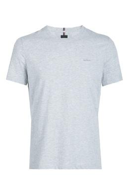 Серая хлопковая футболка Strellson 585157838