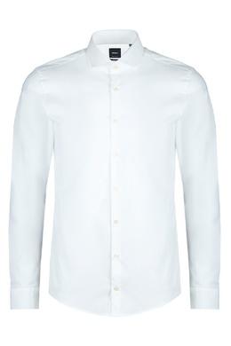 Белая рубашка с длинными рукавами Strellson 585157872
