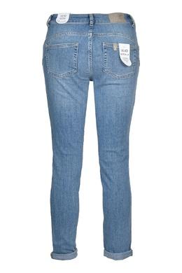 Голубые укороченные джинсы Liu Jo 1776157457