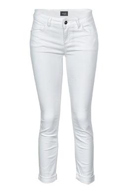 Укороченные белые джинсы с кружевом Liu Jo 1776157455