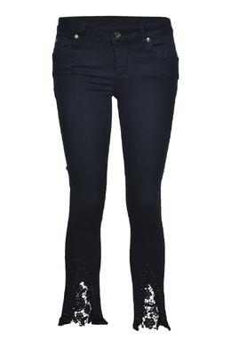 Черные джинсы с кружевом Liu Jo 1776157467