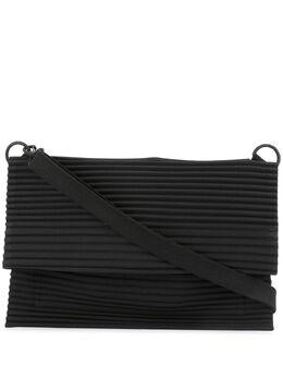Homme Plisse Issey Miyake плоская плиссированная сумка HP96AG521