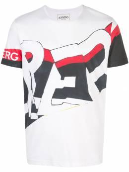 Iceberg футболка с принтом граффити F01E63011101