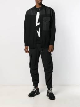 Y-3 трикотажная куртка со вставками FJ0454