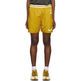Nike Yellow and Grey Gyakusou Utility Shorts CD7113