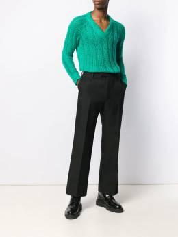 Prada вязаный свитер с V-образным вырезом UMA9921UZ0