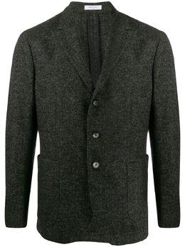 Boglioli пиджак с узором в елочку V2402FTBPC023