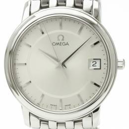 Omega Silver Stainless Steel De Ville Prestige 4510.31 Men's Wristwatch 35MM 226300