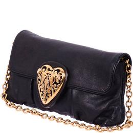 Gucci Black Leather Hysteria Clutch 234900