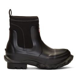 Stella McCartney Black Hunter Edition Rain Boots 596450W1UL1