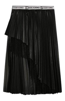 Плиссированная юбка Ermanno Scervino 45I GN07 EC0/10-16