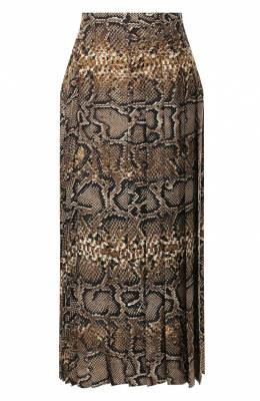 Шелковая юбка Victoria Beckham SK MID 31021C