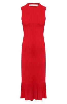 Платье из вискозы Victoria Beckham DR KNT 61026