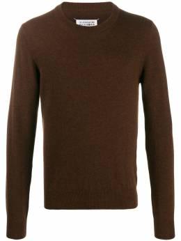 Maison Margiela свитер с нашивками на рукавах S50HA0870S16895