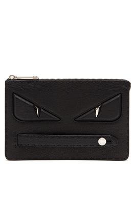 Клатч черного цвета Bag Bugs Fendi 1632157881