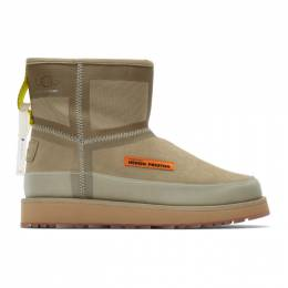 Heron Preston Beige UGG Edition Urban Tech Boots 192967F11300303GB