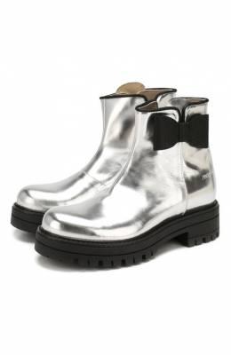 Кожаные ботинки Simonetta SI4TR004/MIRR0R/28-34