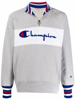 Champion толстовка с воротником на молнии и логотипом 213716