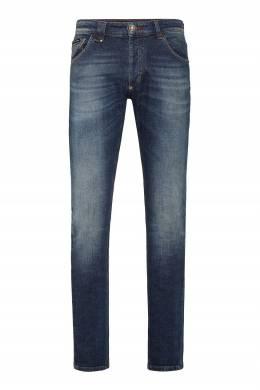Синие зауженные джинсы Philipp Plein 1795138426