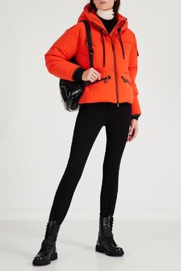Оранжевая куртка с капюшоном Moncler 34158655