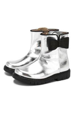 Кожаные ботинки Simonetta SI4TR004/MIRR0R/23-27