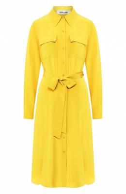 Шелковое платье Diane Von Furstenberg 13589DVF