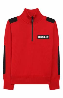Шерстяной свитер Moncler Enfant E2-954-92000-05-A9155/12-14A