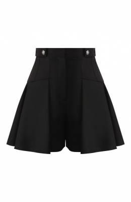 Шерстяные шорты Alexander McQueen 581766/QJAAF