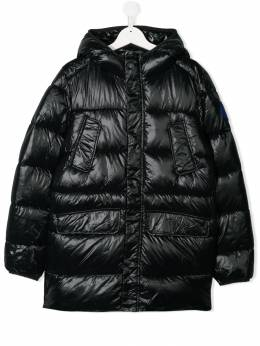 Save The Duck Kids TEEN hooded padded coat J45718LUCK9