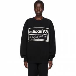 Y-3 Black U Tech Knit Sweater 192138F09600102GB