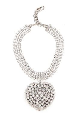 Колье-чокер с кристаллами Alessandra Rich 3154900