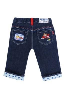 Синие джинсы с декором Miki House 3018159772