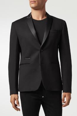 Черный пиджак с логотипом Philipp Plein 1795159217