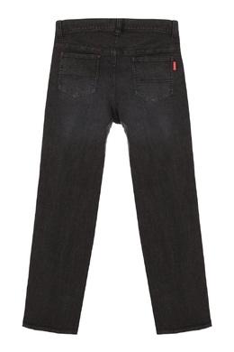 Черные джинсы с потертостями Miki House 3018159648