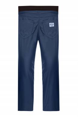 Синие утепленные брюки Miki House 3018159645