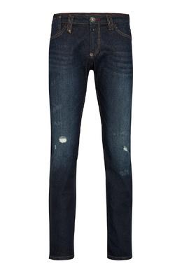 Синие джинсы с потертостями Philipp Plein 1795159785
