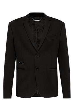 Черный пиджак с кристальным черепом Philipp Plein 1795159822