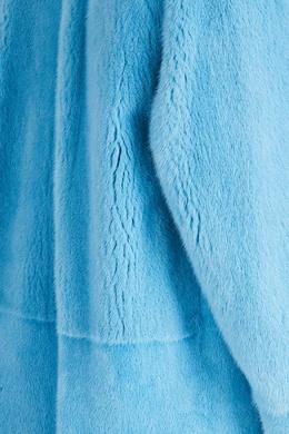 Голубая шуба из меха норки Alena Akhmadullina 73159917