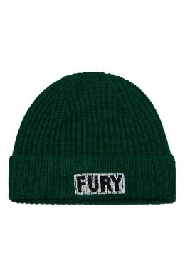 Темно-зеленая шапка бини Essentiel Antwerp 754158895