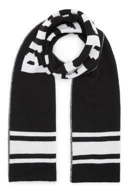 Двухсторонний шарф с логотипом Philipp Plein Kids 2714159322