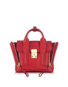 Pashli - Маленькая Красная Кожаная Сумка 3.1 Phillip Lim AP13-0226SKC RED + AC00-0226SKC RED