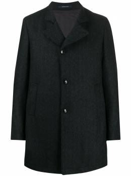 Tagliatore пальто Gordon с узором в елочку GORDON34SIC240