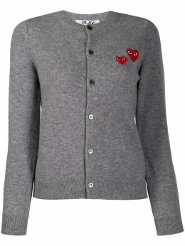 Comme Des Garcons Play кардиган с вышивкой P1N071