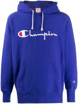 Champion худи с вышитым логотипом 212574FBKK