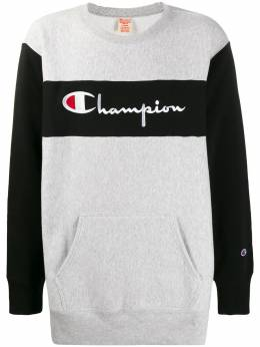 Champion толстовка с вышитым логотипом 214049