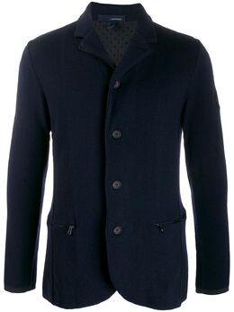 Lardini однобортный пиджак узкого кроя ILLJM64IL53018