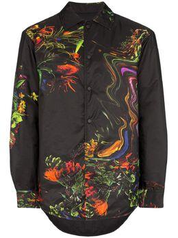 Y-3 куртка-рубашка Toketa с цветочным принтом FN2784