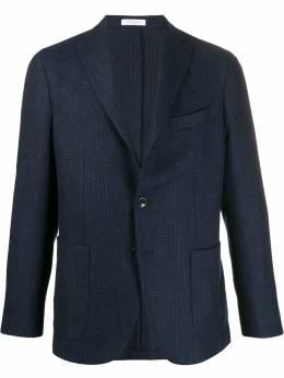 Boglioli фактурный пиджак в стиле колор-блок N2902EBPC124