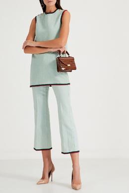 Платье-сарафан с контрастной отделкой Gucci 470160210