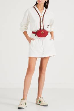 Спортивное платье-кардиган Gucci 470160205